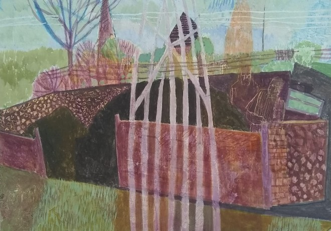 Michael Collins, Alfriston Enclosure