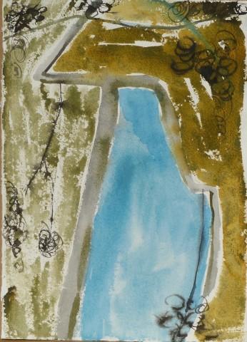 Anne Lynch, Sky through the Trees