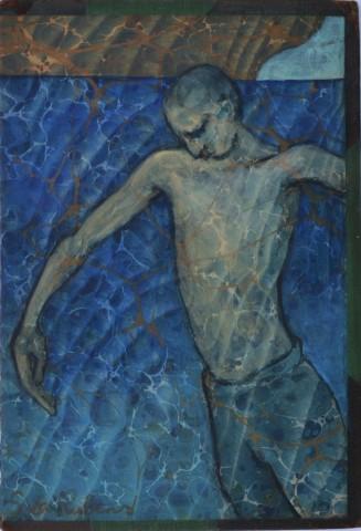Sula Rubens, Boy at Water's Edge