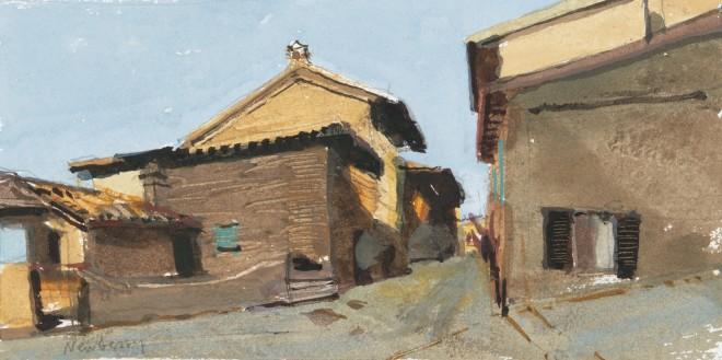 John Newberry, Street in Passignano, Italy
