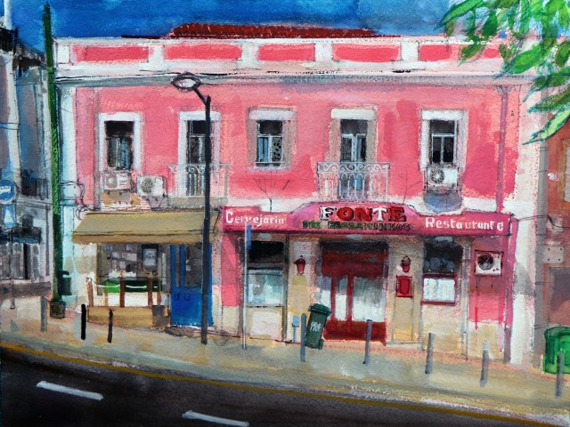 Peter Quinn, Largo das Fontainhas, Lisbon