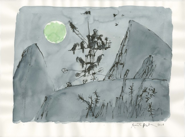 Quentin Blake, The Moonlight Traveller
