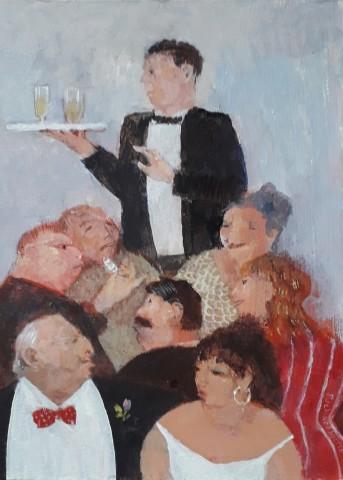 Richard Sorrell, Wine Waiter