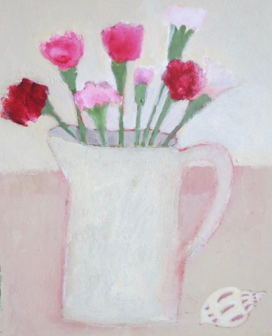 Jill Leman, Little Jug of Pinks