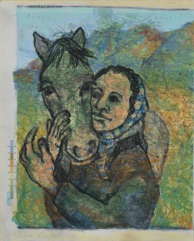 Sula Rubens, Mountain Girl with Horse