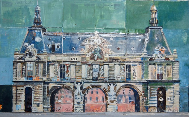 Stuart Robertson, Louvre Bridge Entrance