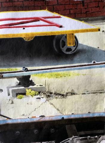 Iain Nicholls, Elsecar Railway Study