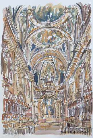 Thomas Plunkett, The Quire, St. Paul's Cathedral