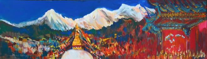 Neil Pittaway, Kathmandu Panorama