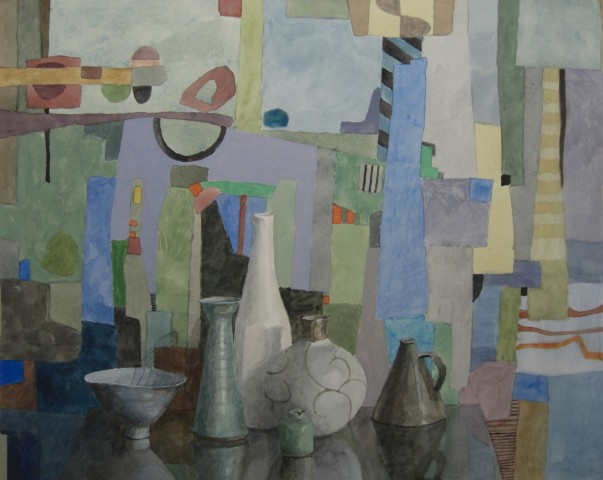 Annie Williams, Patchwork in Blue