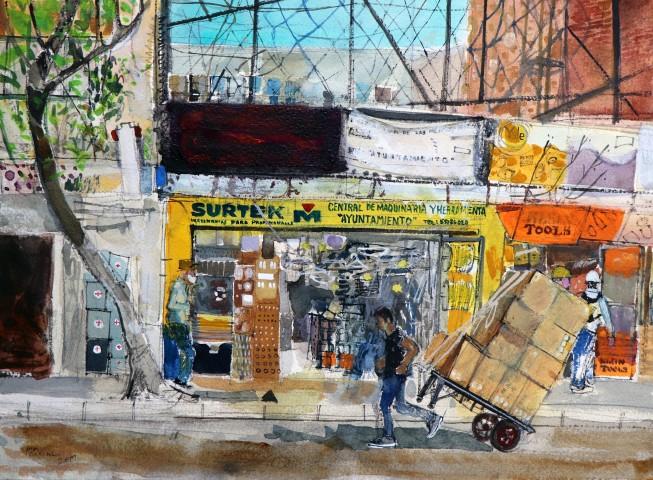 Peter Quinn, Hardware Shop, Historic Centre, Mexico City