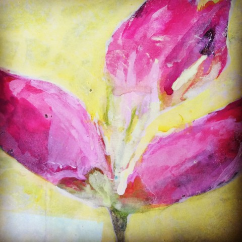 Janet Golphin, Budding Rhododendrons