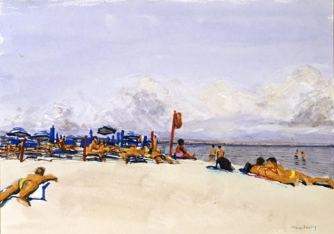 John Newberry, Il Poeto Beach, Cagliare, Sardinia
