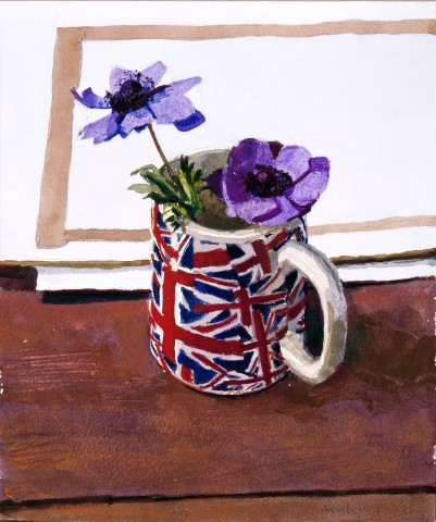John Newberry, Blue Anemones