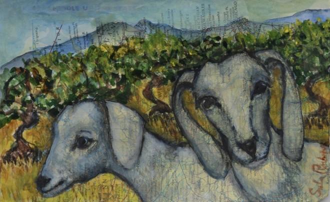 Sula Rubens, Two Young Goats