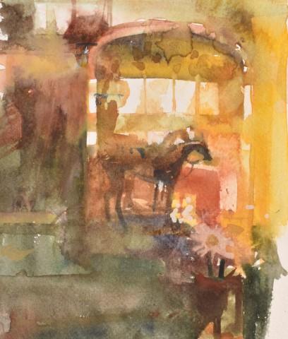 Richard Pikesley, Iron Horse, Mirror and Dasies
