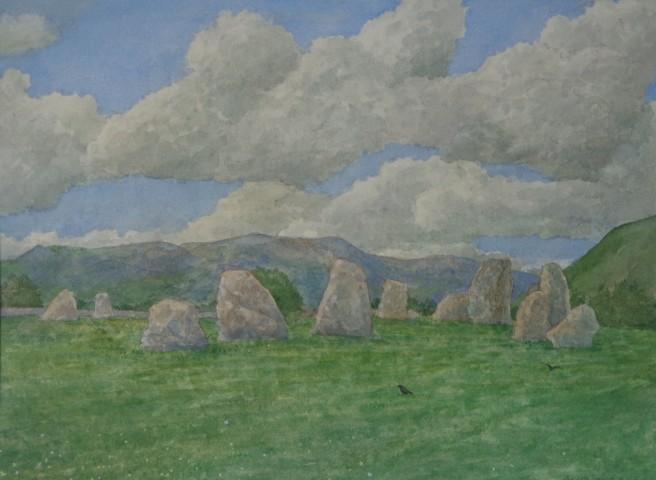 David Payne, Passing Clouds, Castlerigg
