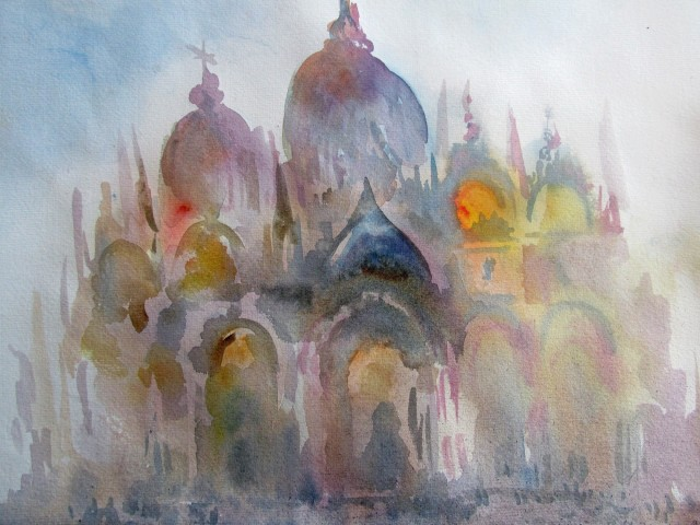 Neil Pittaway, St. Mark's, Morning Light, Venice