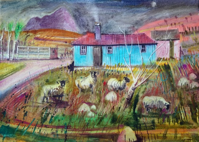 Jenny Wheatley, Fading Light and the Blue Hut