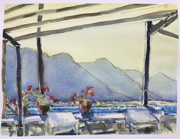 Janet Treloar, The White Mountains
