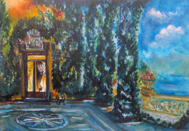Neil Pittaway, The Loggia Villa del Balbianello on Lake Como, Italy