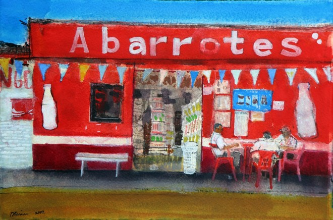 Peter Quinn, Roadside Cafe, Chiapas, Mexico