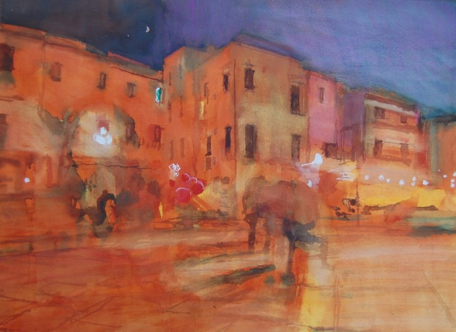Simon Pierse, One Evening in Trani