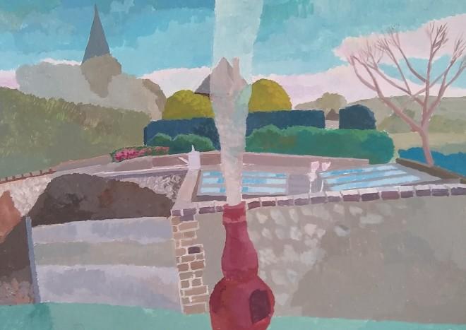 Michael Collins, Study for the Vicar's Garden