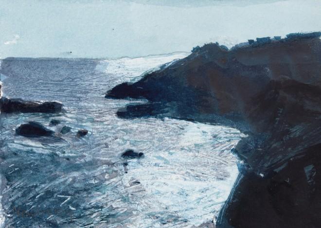 John Newberry, Sun Dazzle on Waves, La Palma