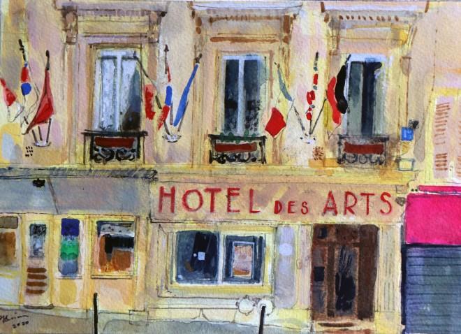 Peter Quinn, Paris, Hotel des Arts