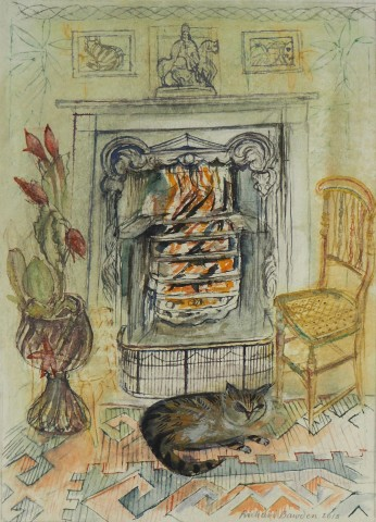 Richard Bawden, Winter Fire