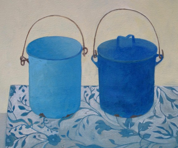 Wendy Jacob, Two Blue Canisters