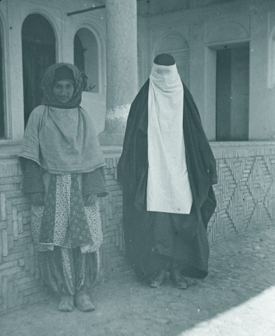 Rev. C.H. Stileman, A Zoroastrian and Muslim woman, Isfahan, Late 19th Century