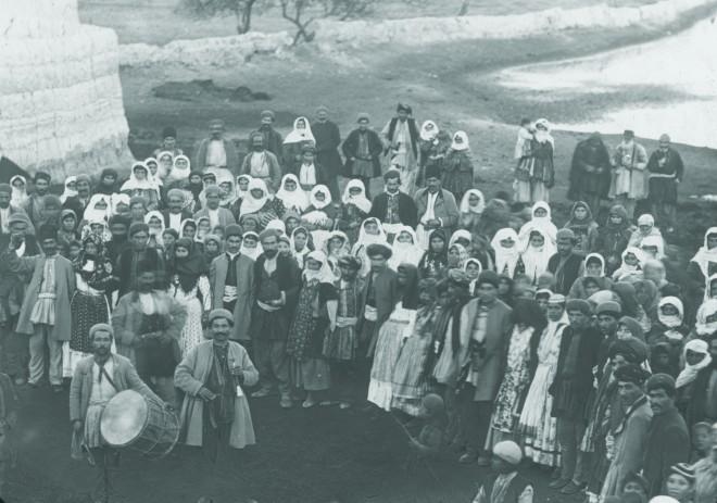 Rev. C.H. Stileman, A Nestorian wedding at Ardishi, on the borders of a lake, 1897 or earlier