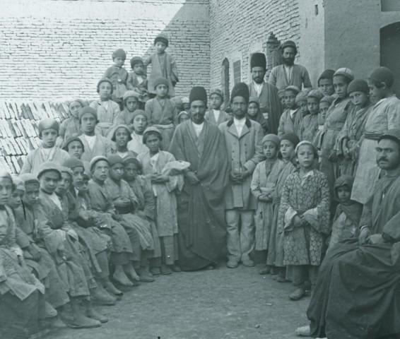 Rev. C.H. Stileman, Jewish school, Isfahan, Late 19th Century