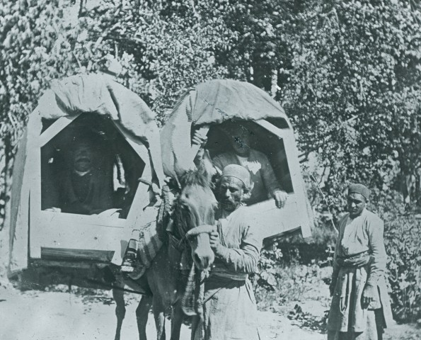 Rev. C.H. Stileman, A Kajaveh (Litter), Persia, Late 19th Century
