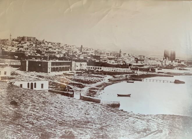 Alexander Mishon , View of the Port of Baku, Late 19th Century, early 20th Century
