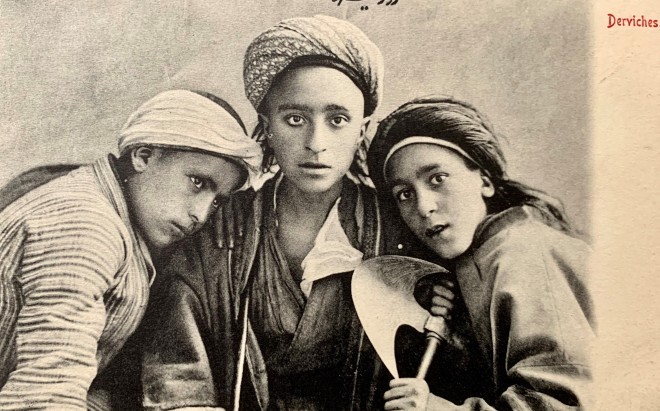 Antoin Sevruguin, Young Dervishes, Early 20th Century