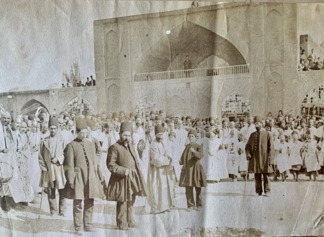 Antoin Sevruguin, A festival, Late 19th Century