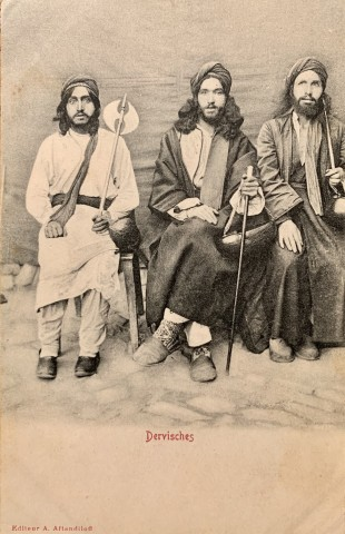 Not known, Dervishes, Late 19th Century