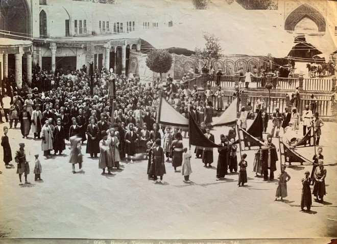 Dmitri Ivanovich Ermakov, Celebration of Ashura, Tehran, Late 19th Century