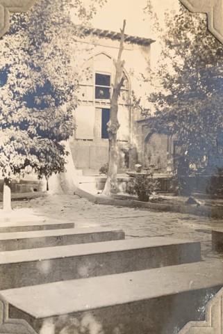 John Drinkwater, The haft-tan (seven-men) cemetery in Shiraz, 1934
