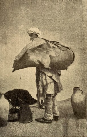 Antoin Sevruguin, A water salesman, Late 19th Century, Early 20th Century