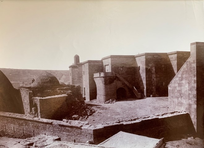 Alexander Mishon , The Palace of the Shirvanshahs, Baku, Late 19th Century, early 20th Century