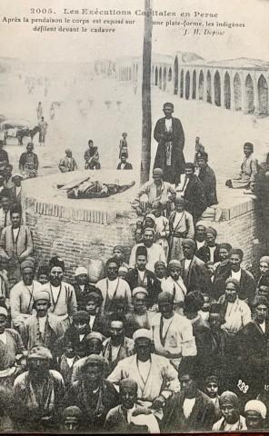Antoin Sevruguin, Criminal execution Persia, Late 19th Century