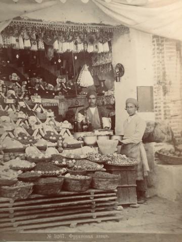 Dmitri Ivanovich Ermakov, Fruit stall, Late 19th Century