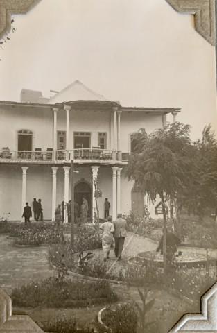 John Drinkwater, The Governor's residence, Hamadān, 1934
