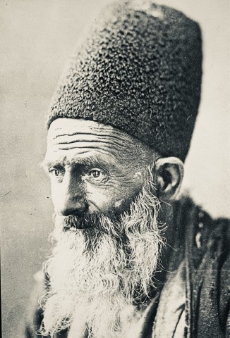 Not known, An elderly Persian man, Late 19th or early 20th Century