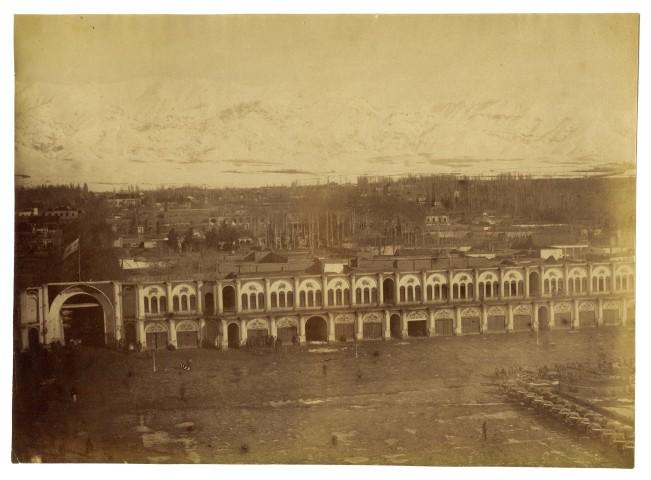 Antoin Sevruguin, Tupkhana, Tehran, Late 19th Century