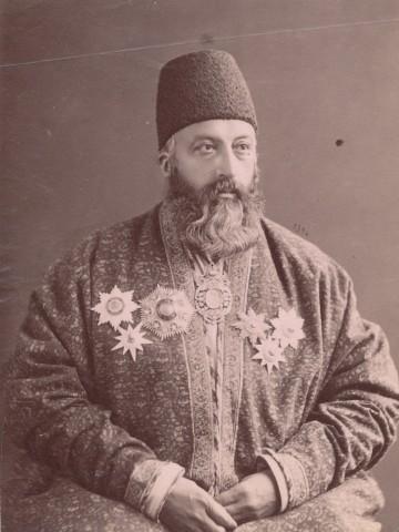 Dmitri Ivanovich Ermakov, Haji Mirza Abdollah Khan Ala' Ol-Molk, Master of Ceremony of Naser al-Din Shah Qajar, Late 19th Century